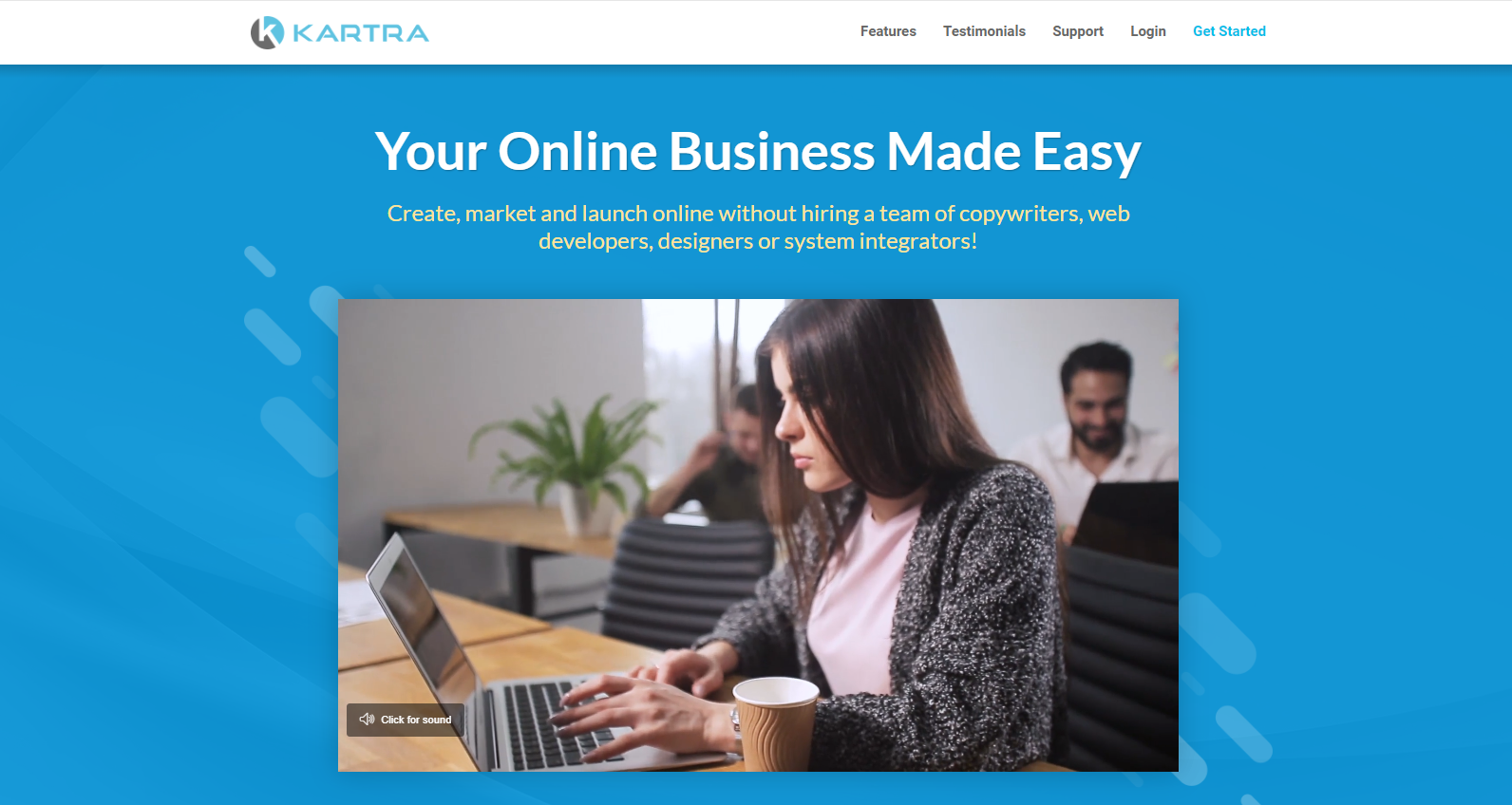 Kartra- Online business made easy
