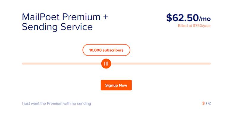 MailPoet Pricing Plans