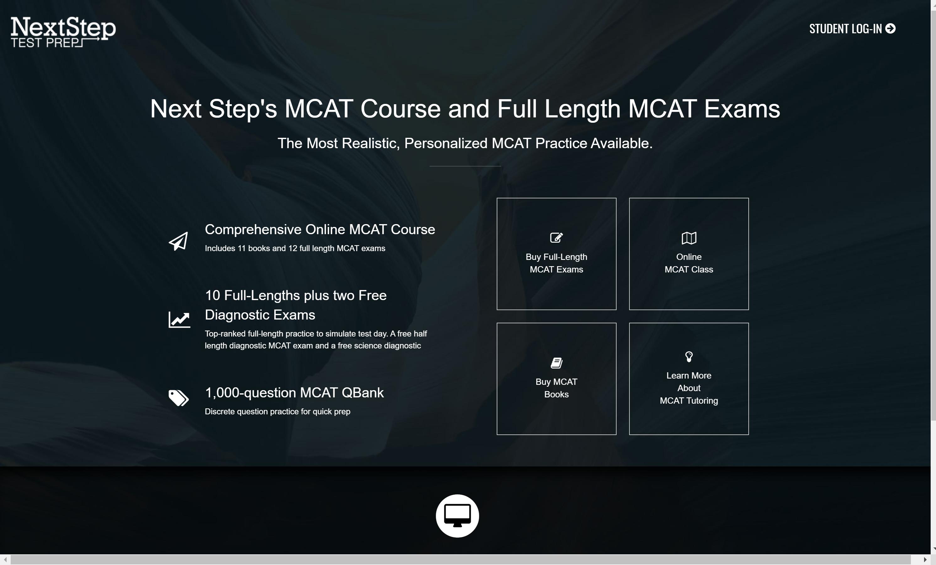 NextStep MCAT Online Courses