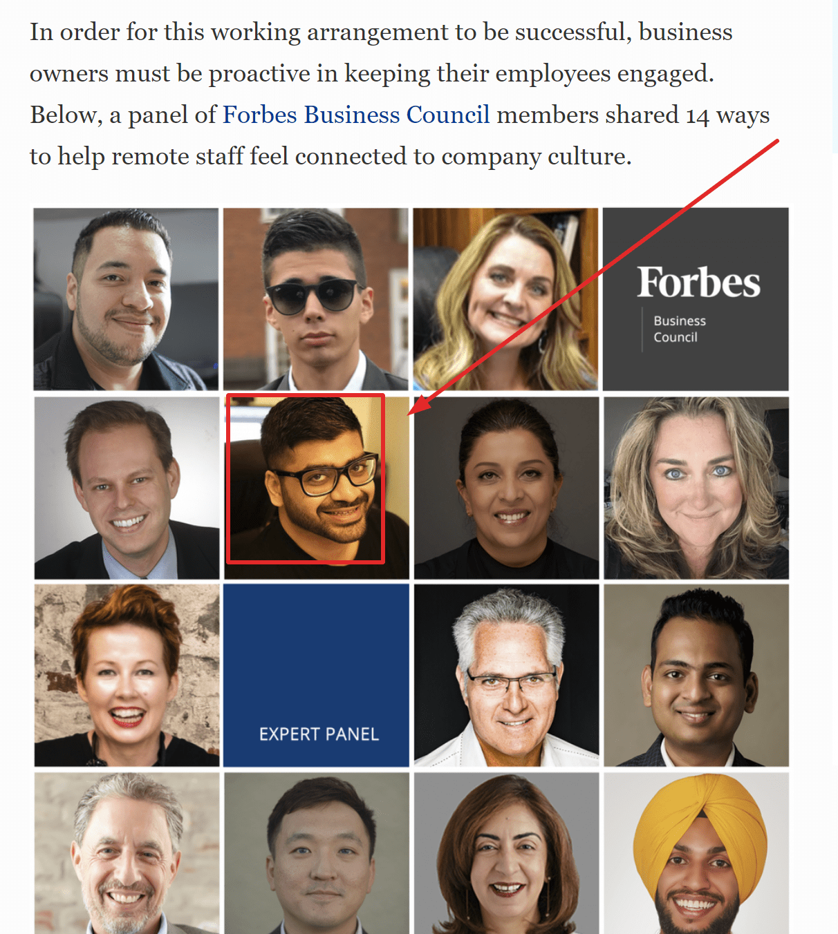 Pitchground CEO and founder in Forbes