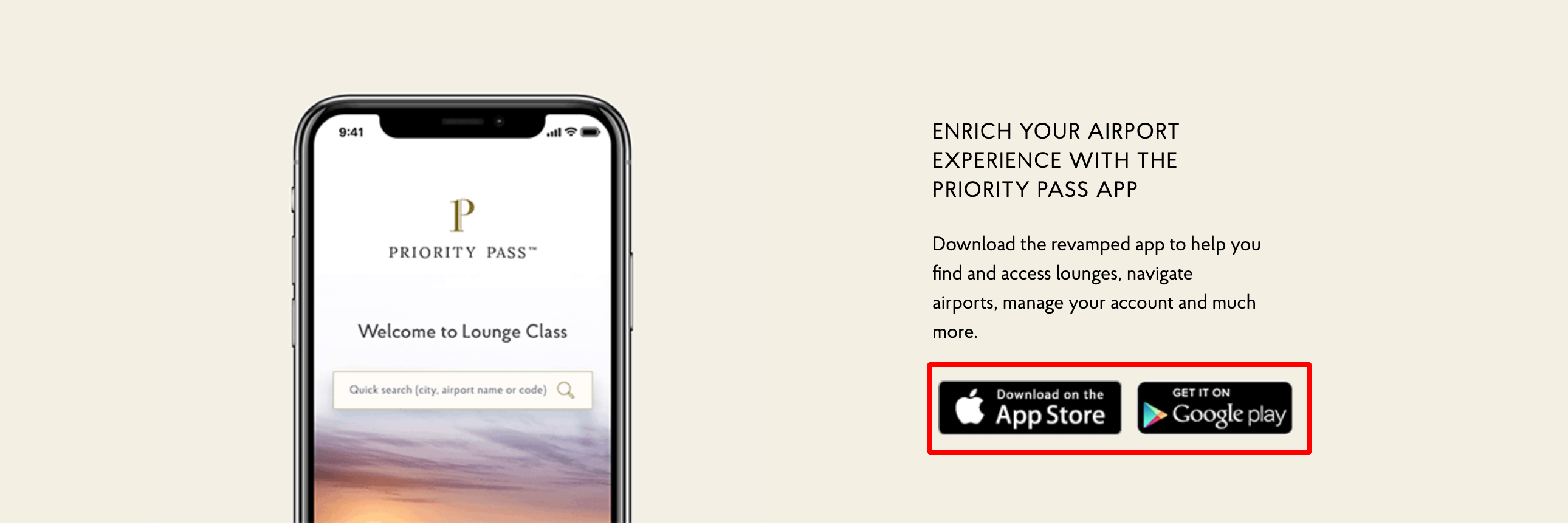Priority Pass Review- Mobile Apps