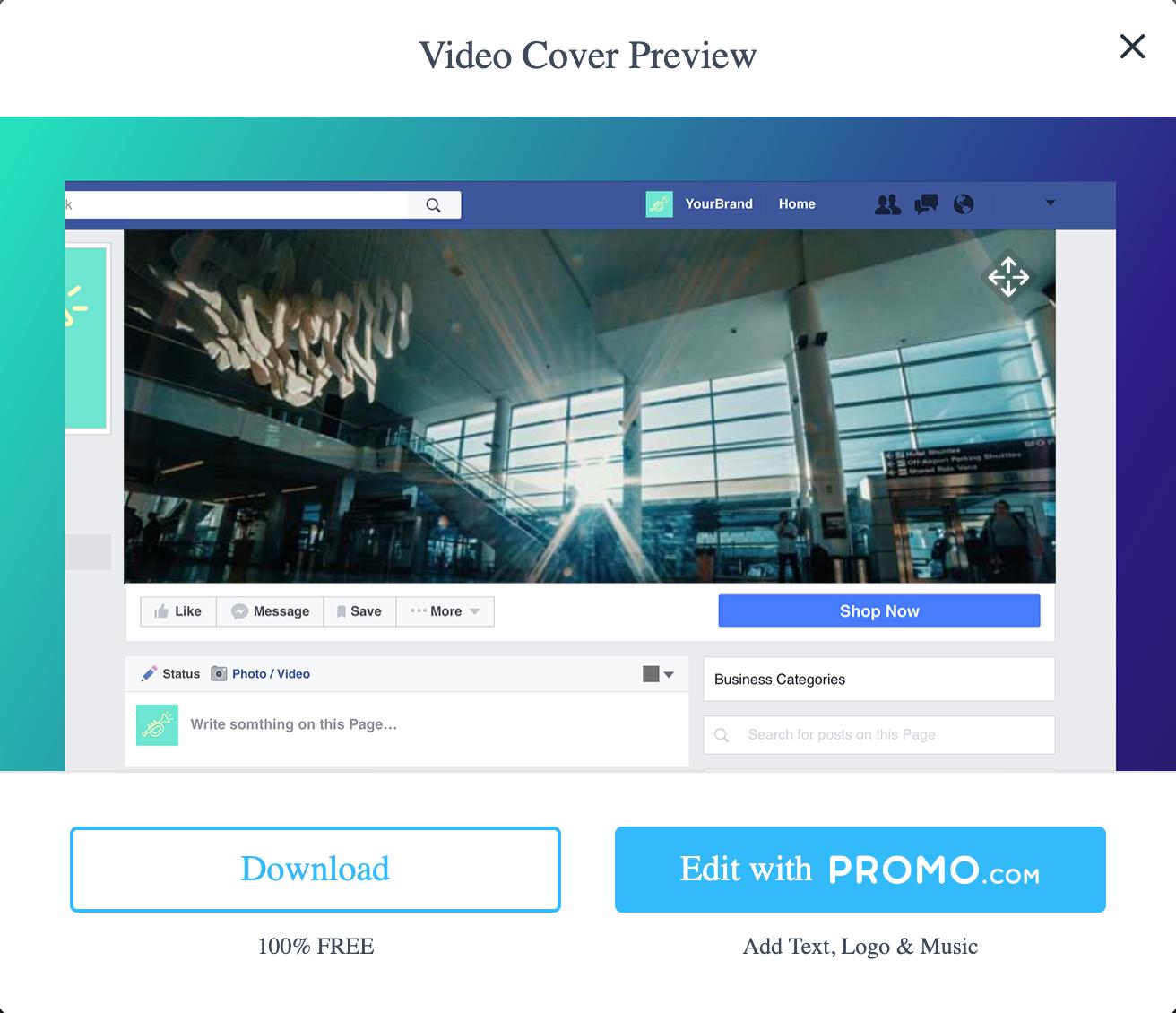 Promo.com Review- Facebook Covers New