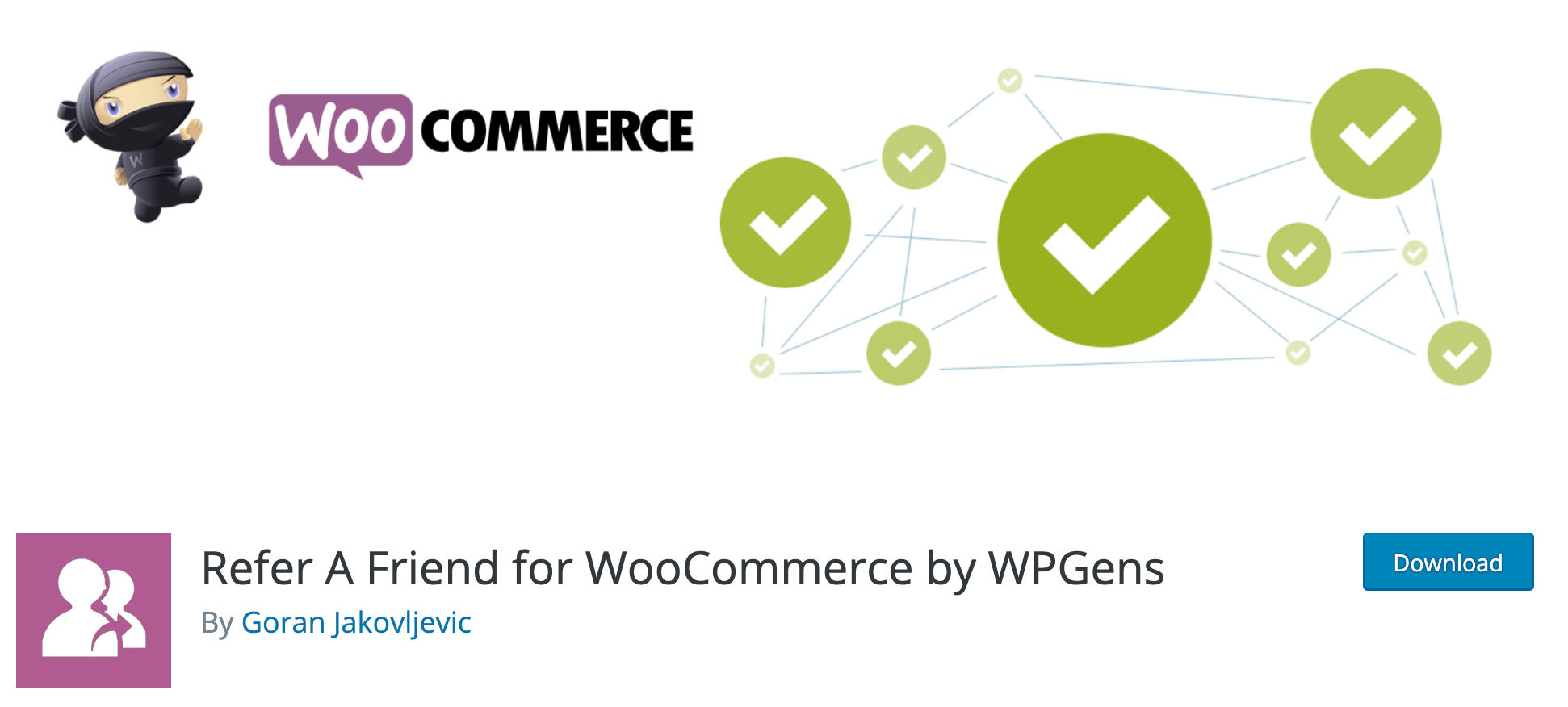 Refer A Friend for WooCommerce- Affiliates Plugin