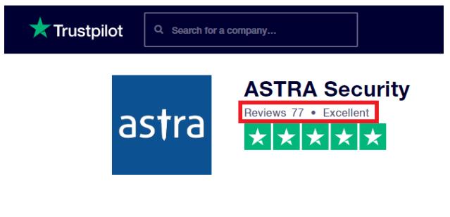 Astra Vs Malcare Comparison Review- Astra Support