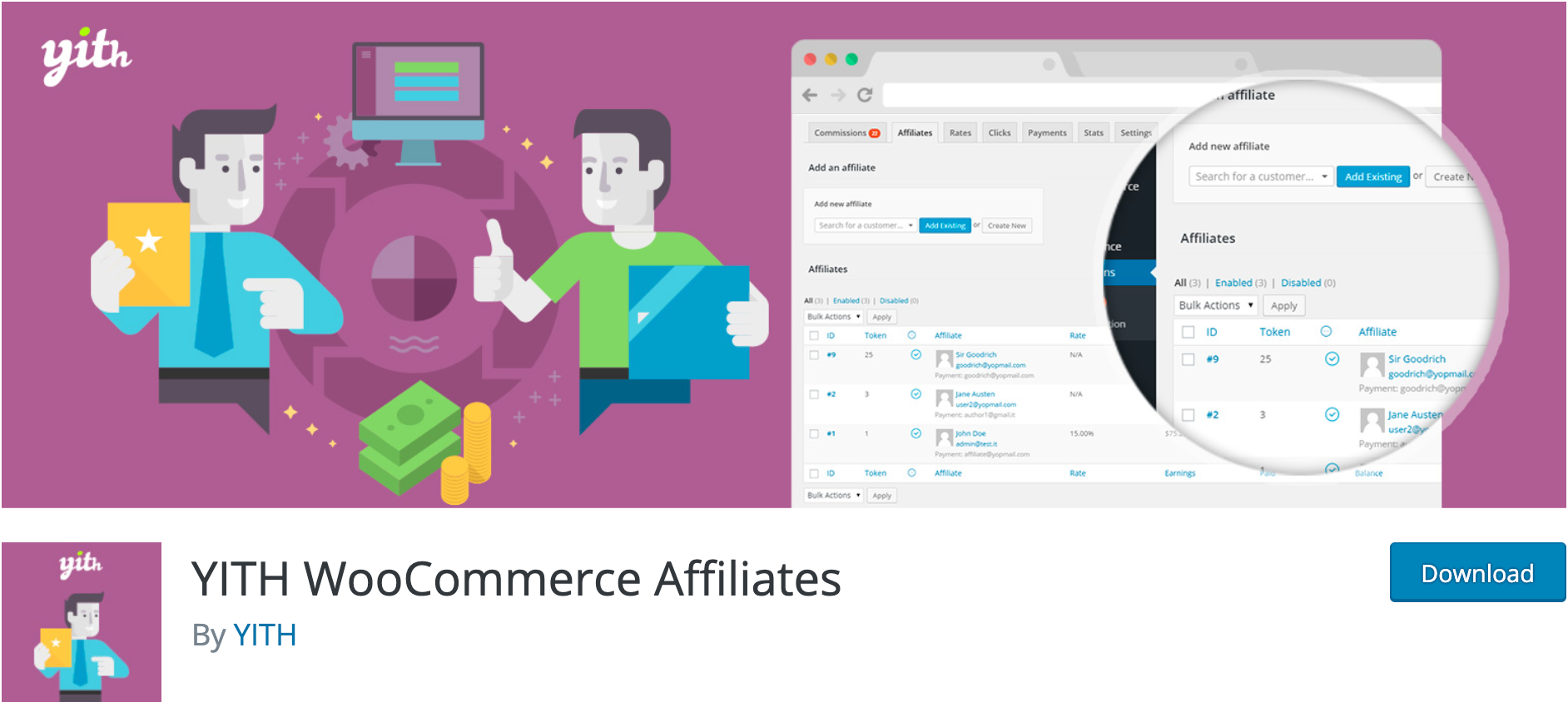 YITH WooCommerce Affiliates – Affiliates Plugin