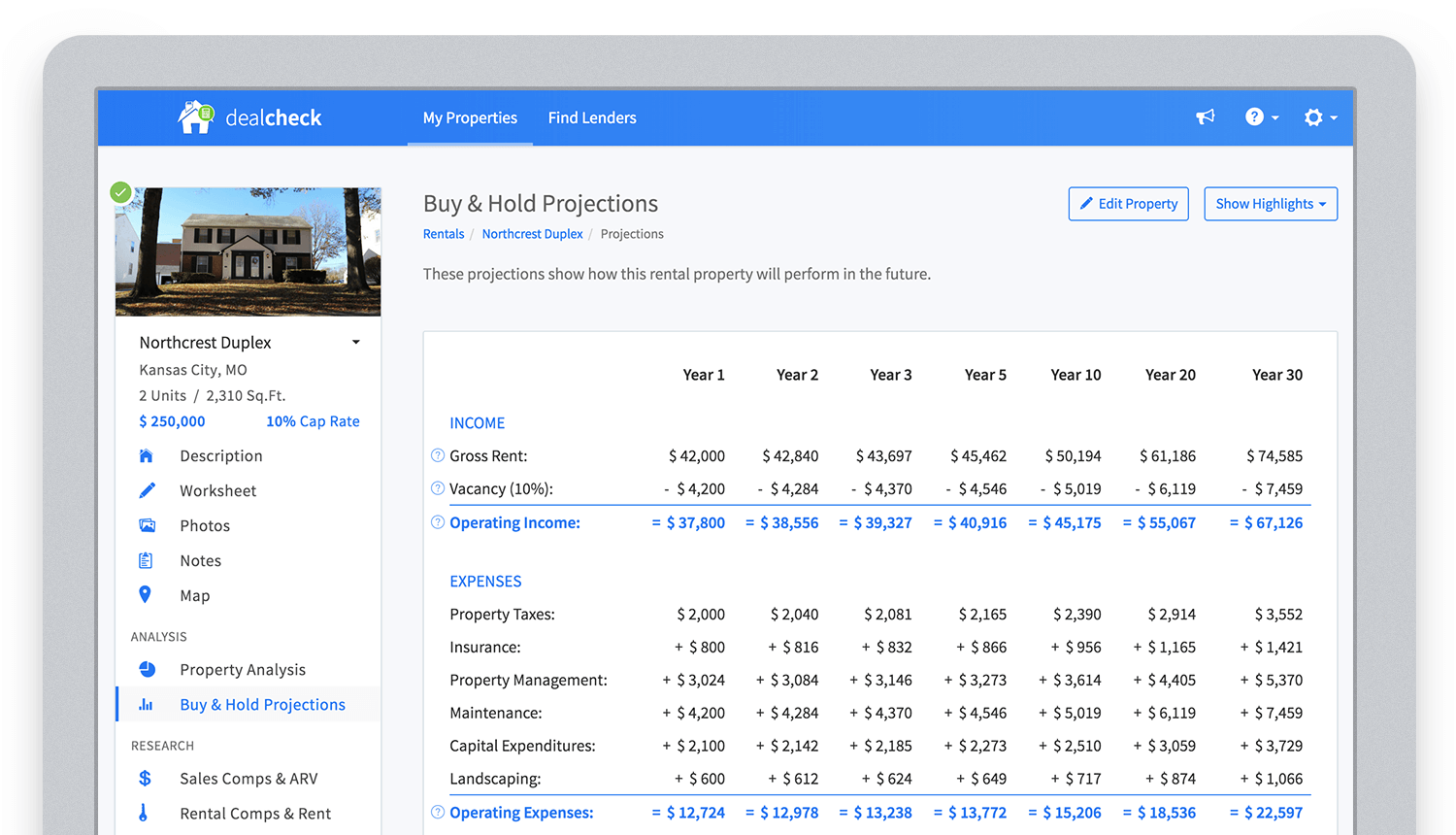 dealcheck-projections