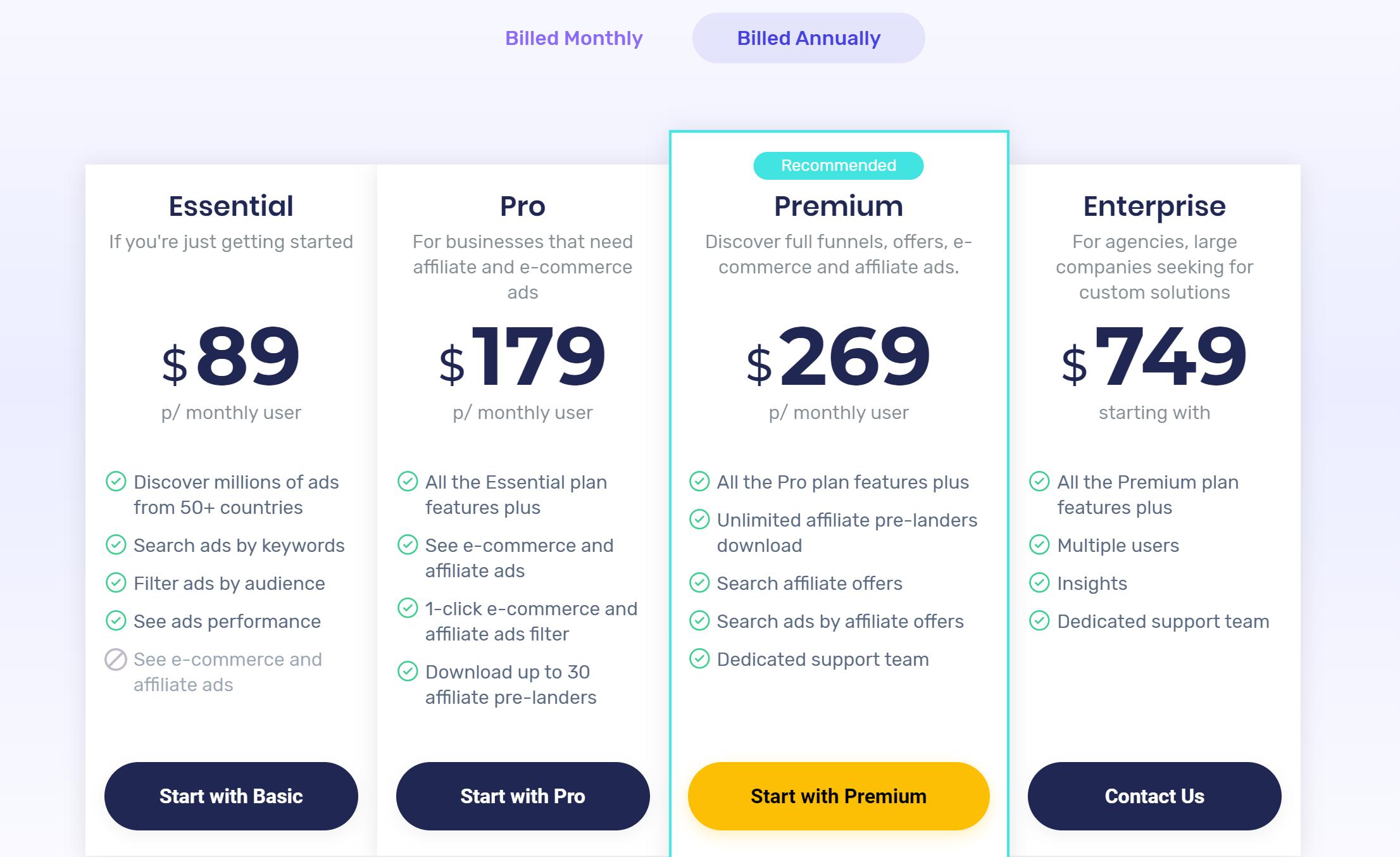 magicadz pricing reviews