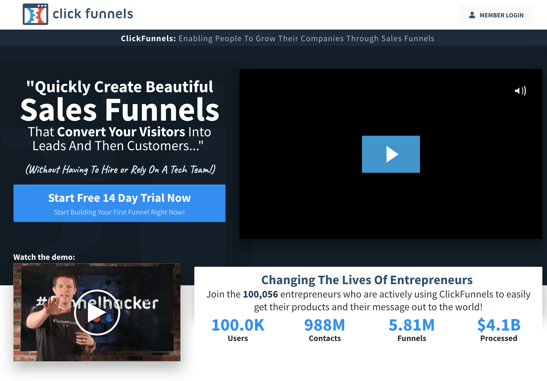 ClickFunnels™ - Marketing Funnels Made Easy