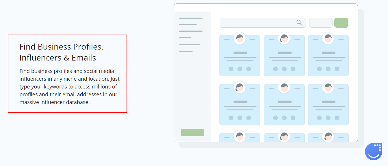 Find Business Profiles, Influencers & Emails