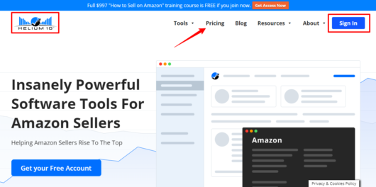 Insanely Powerful Tools For Amazon Sellers - Helium 10