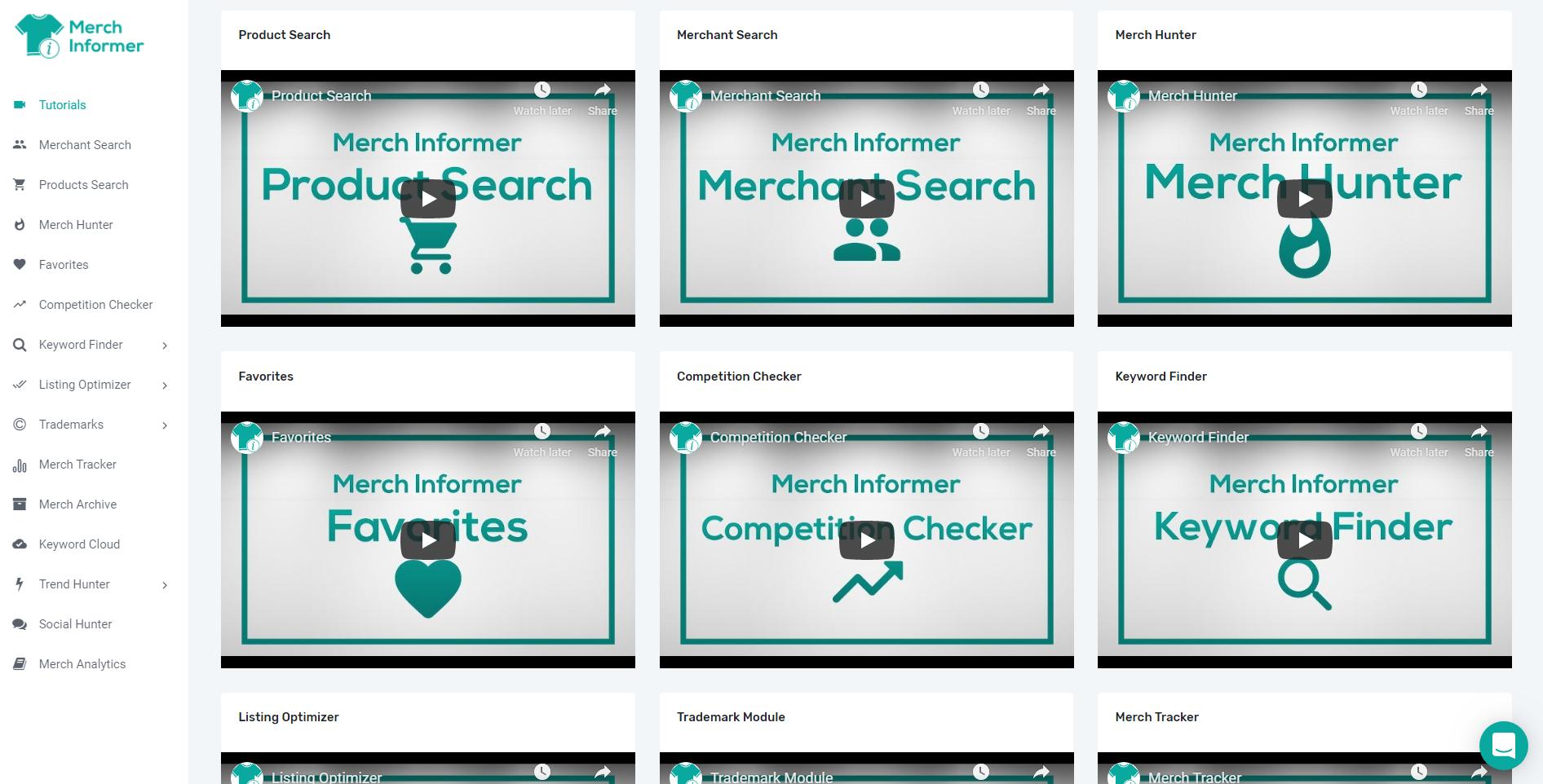 Merch Informer Review - Tutorialsac