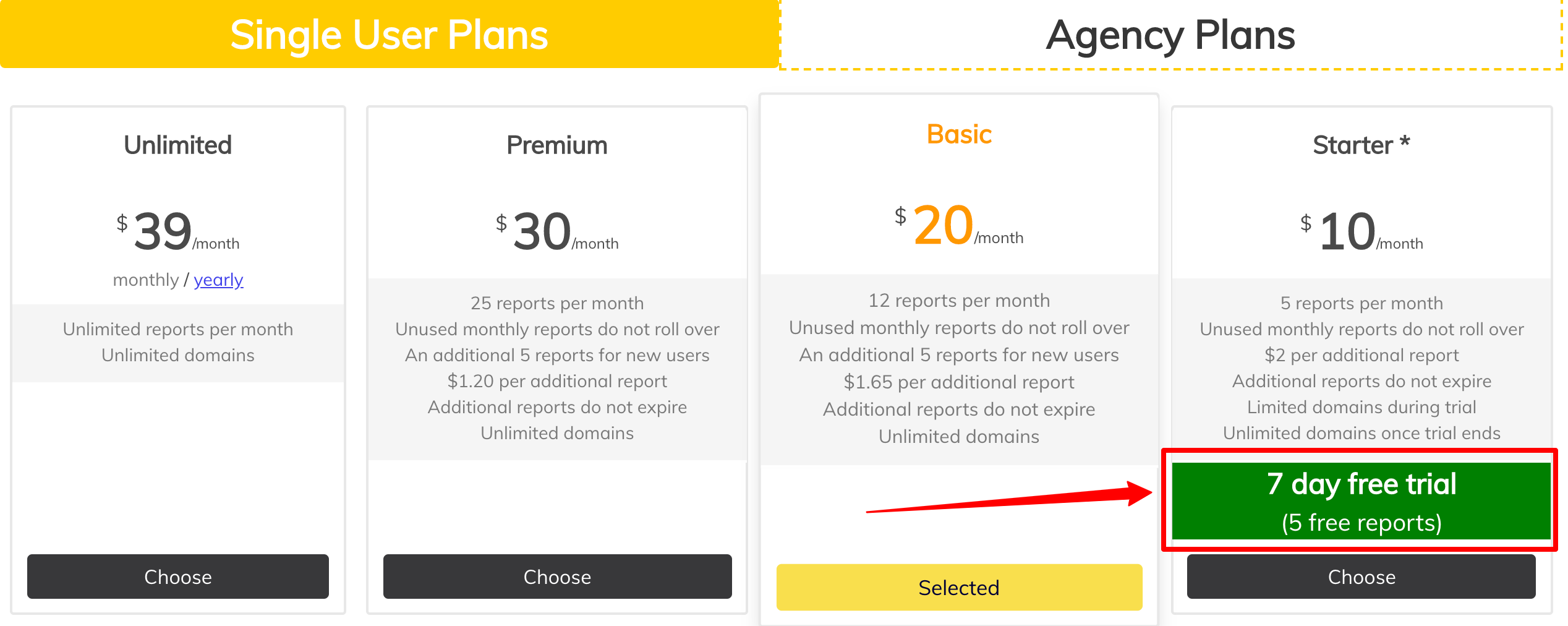 PageOptimizer Pro Pricing Plans