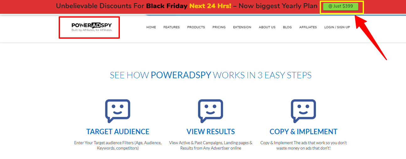 PowerAdSpy Black Friday Deal