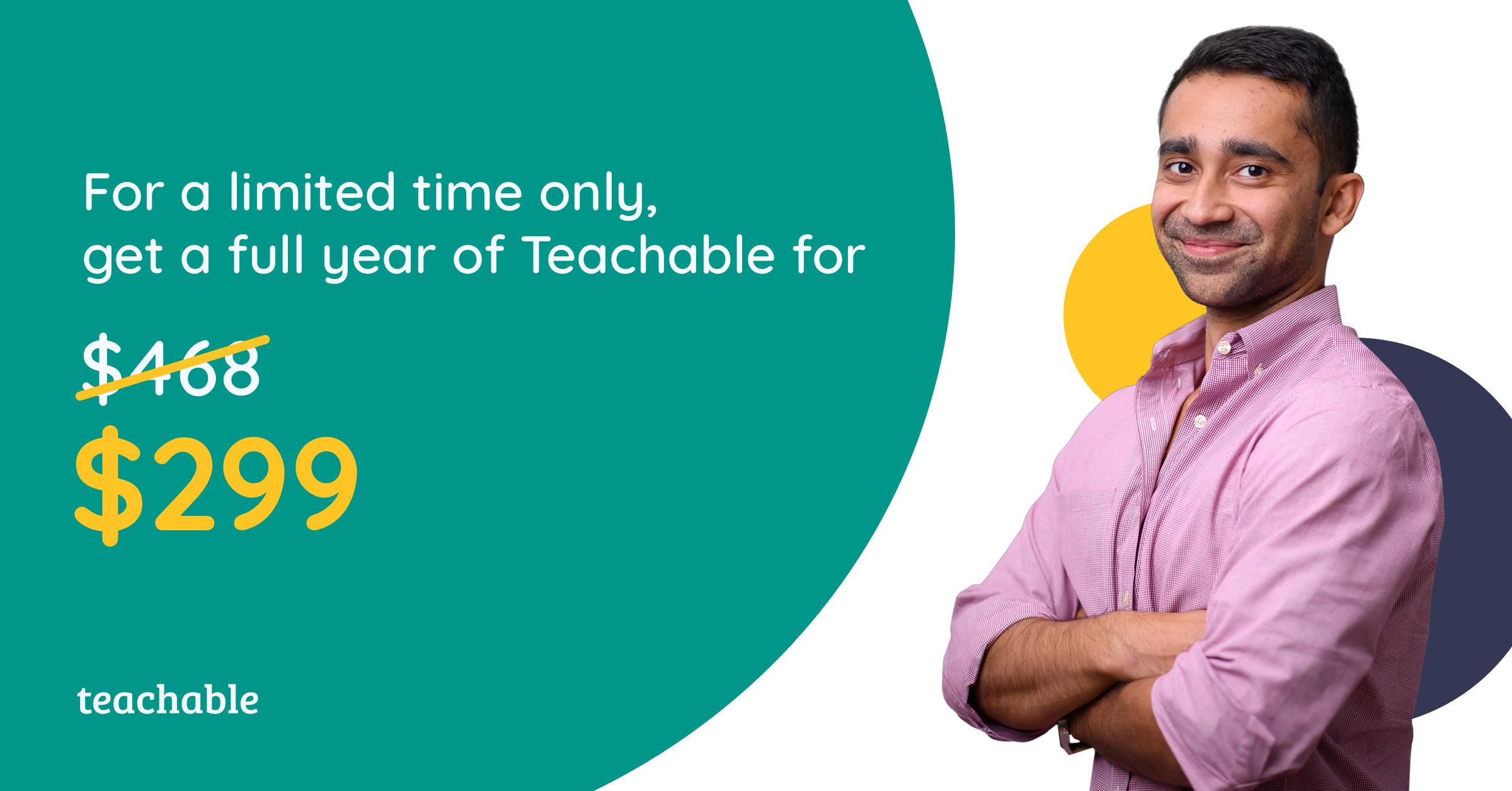 Teachable black friday deals