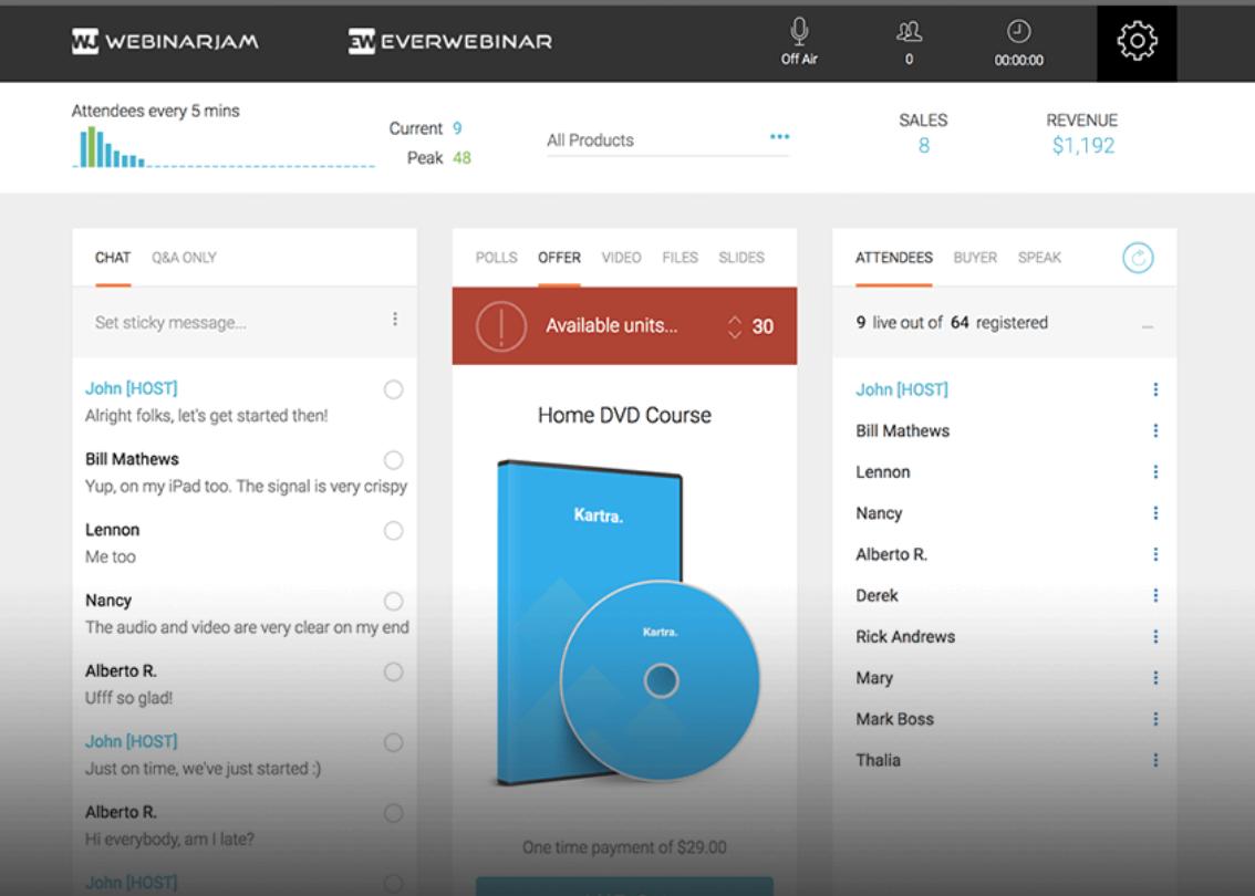 WebinarJam- Analytics