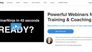 WebinarNinja- Best Webinar Software
