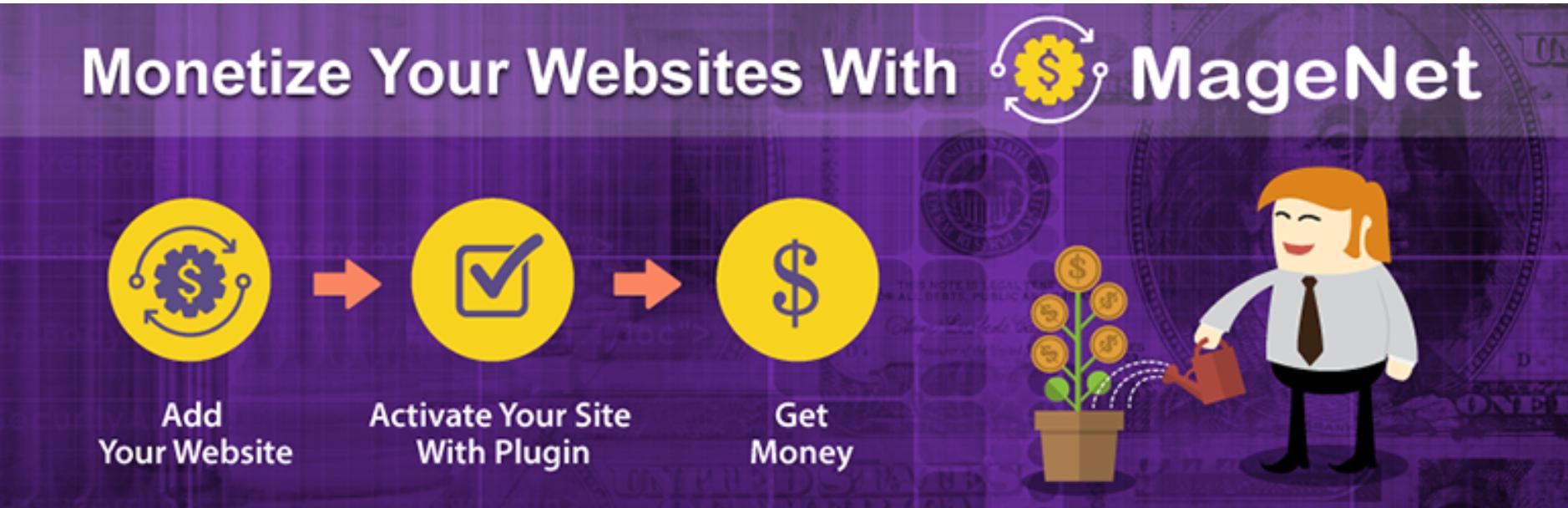 Website Monetization Pluin for MageNet