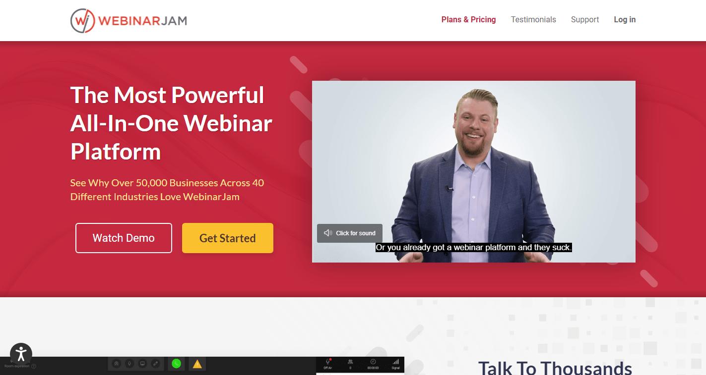 What is WebinarJam