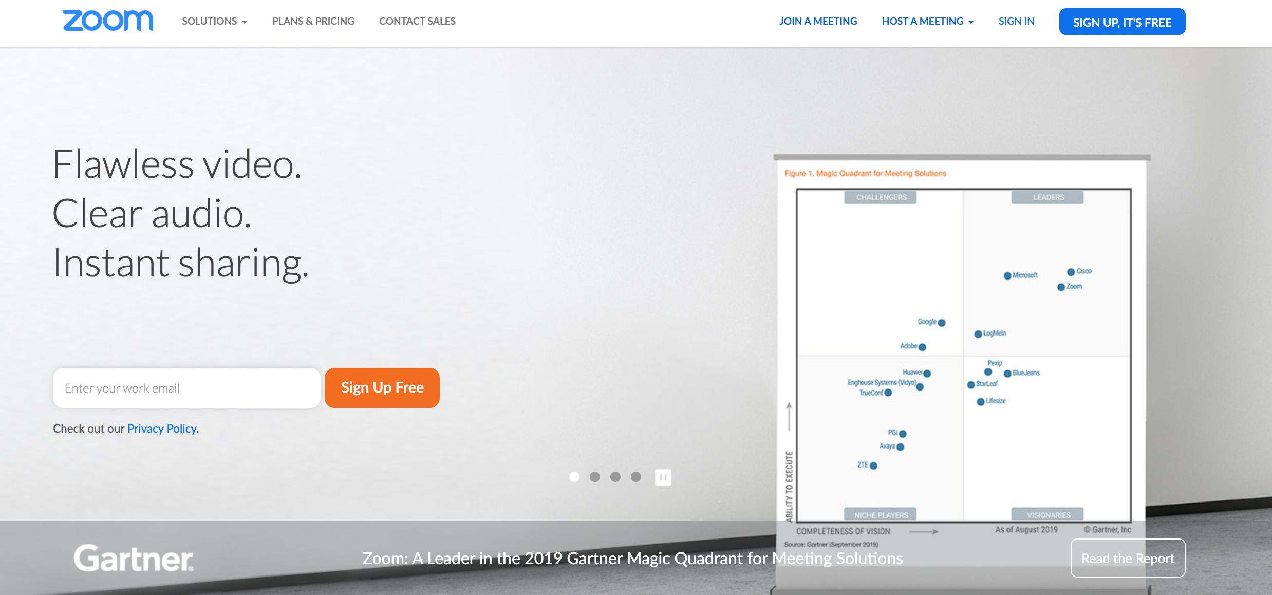 Zoom- Webinar & Video Conferencing