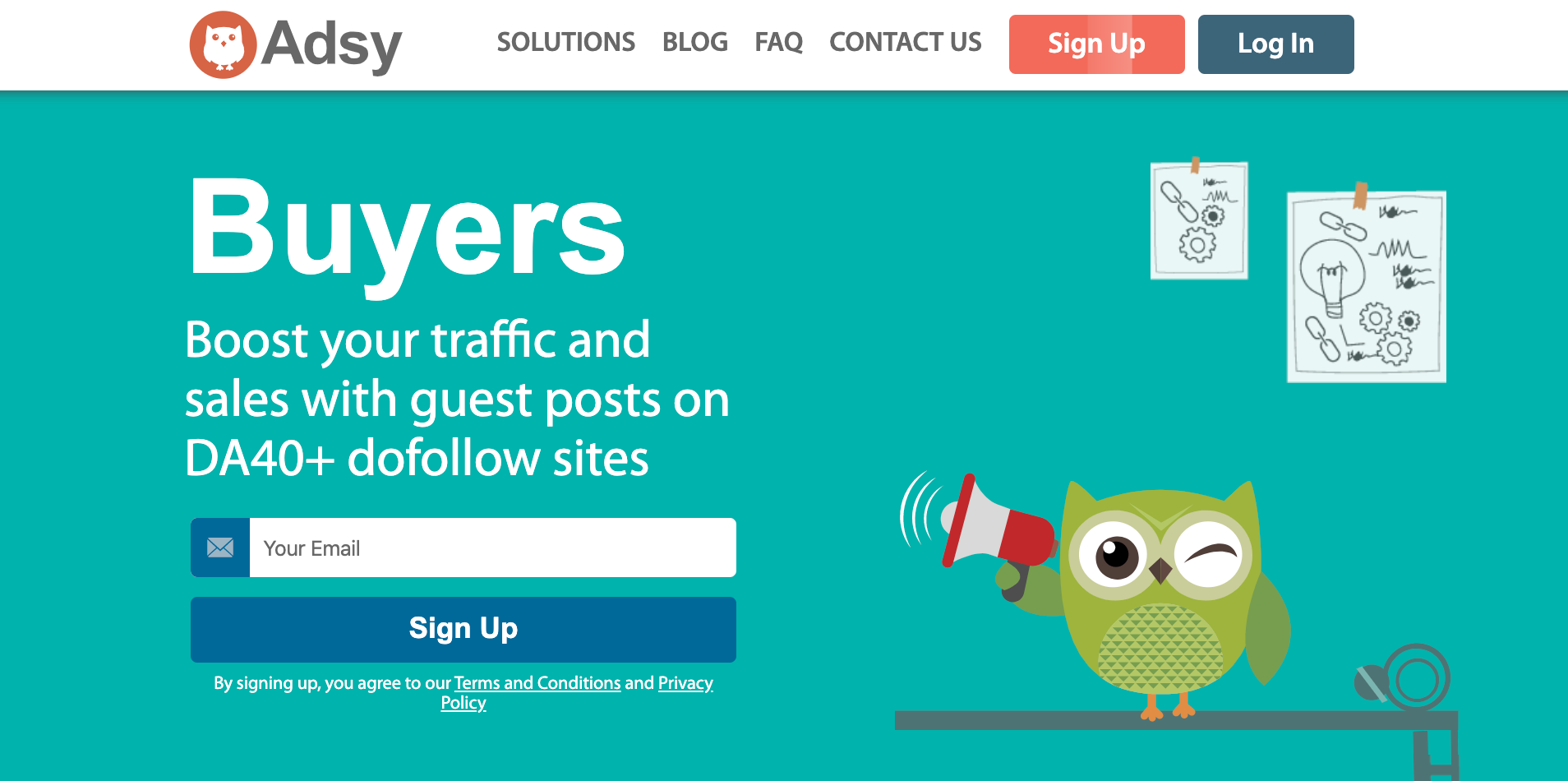 Adsy For Bloggers- Guest Post Service