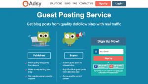 Adsy Review- Guest Posting Services