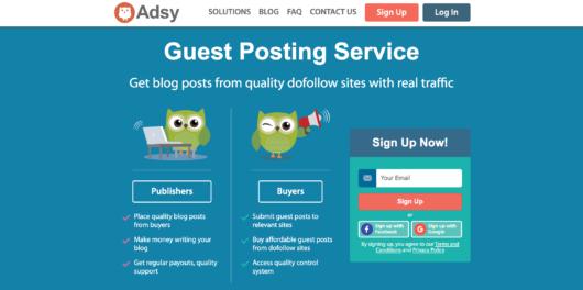 Adsy评论-访客发布服务