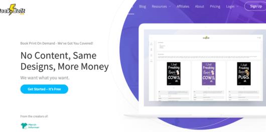 Book Bolt - Start A Publishing Company