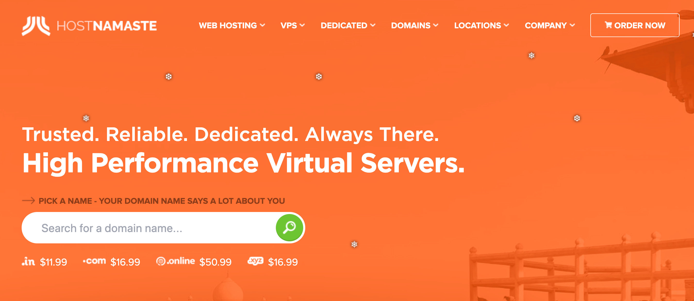 HostNamaste Review- Affordable Web Hosting