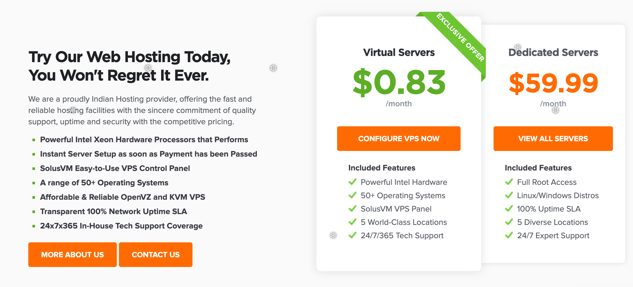 HostNamaste Virtual Servers