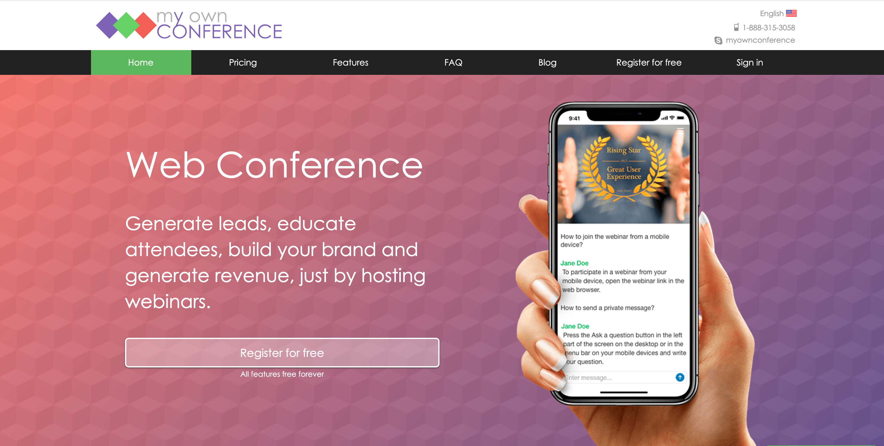 MyOwnConference Review - MyOwn Conference