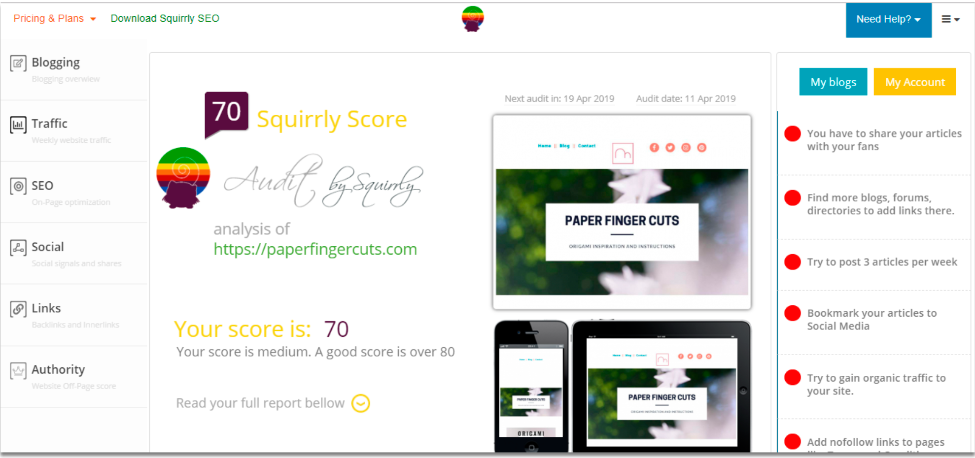 Squirrly SEO Plugin Review- SEO Audits