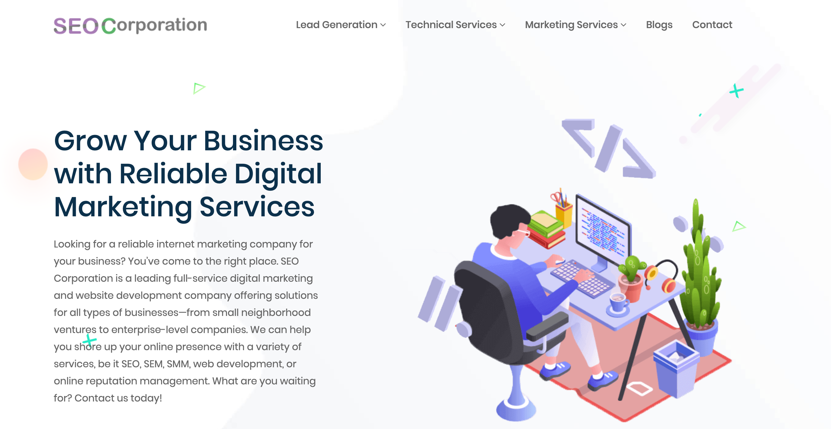 The Top 8 Best SEO Agencies To Check Out- SEO Corporation