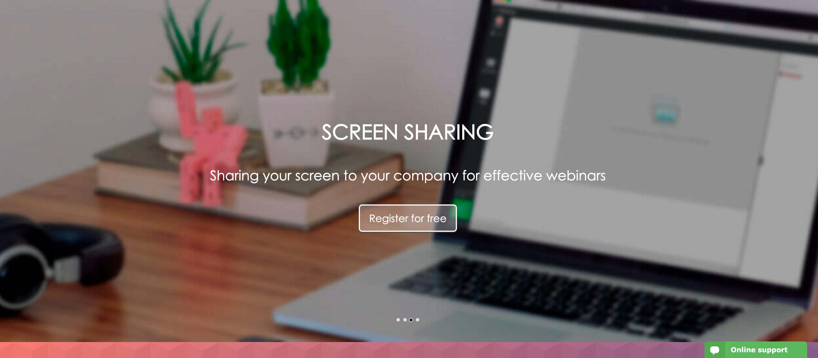 MyOwnConference Review - Screen Sharing