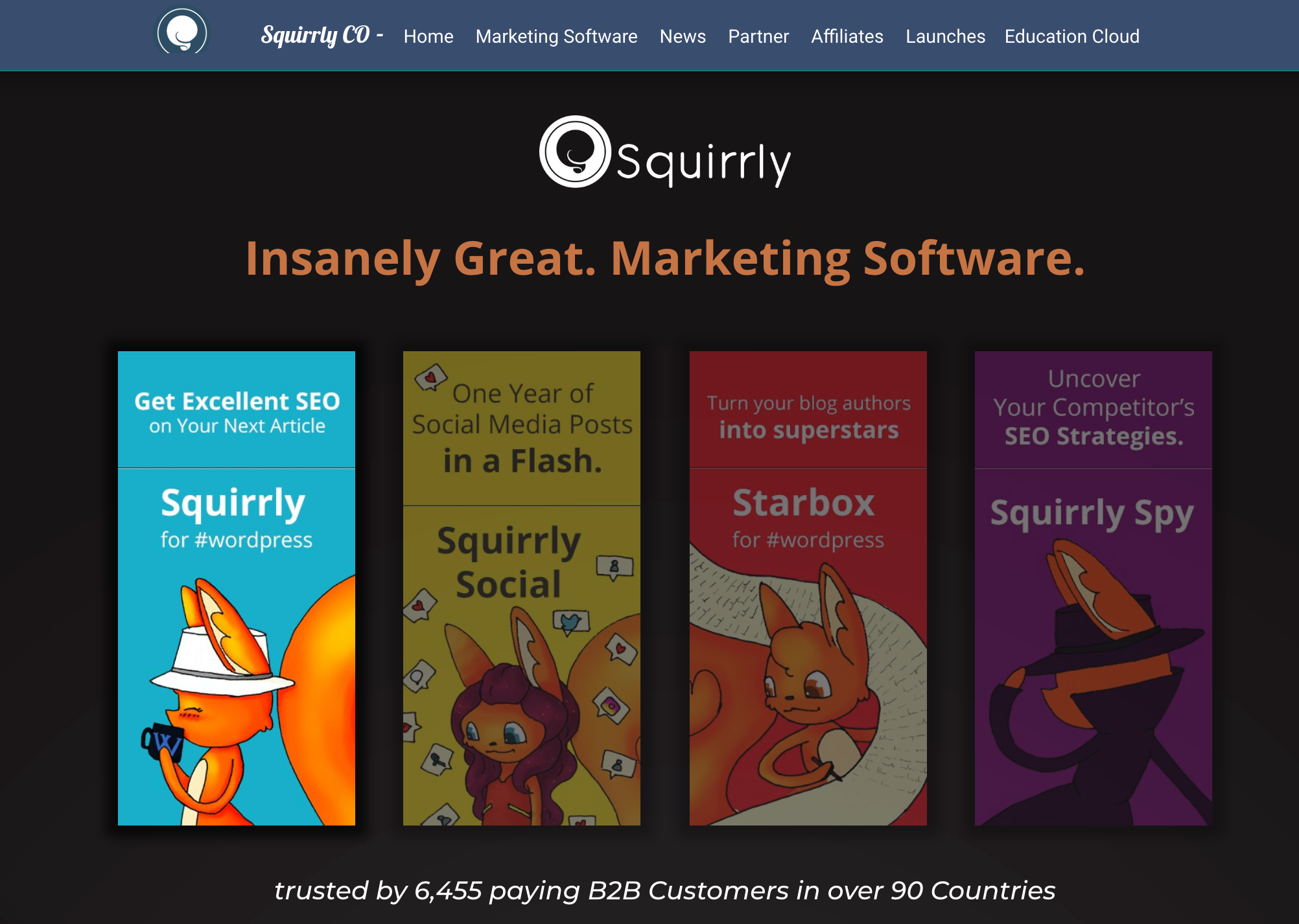 Squirrly Review- One Stop Marketing Software Hub