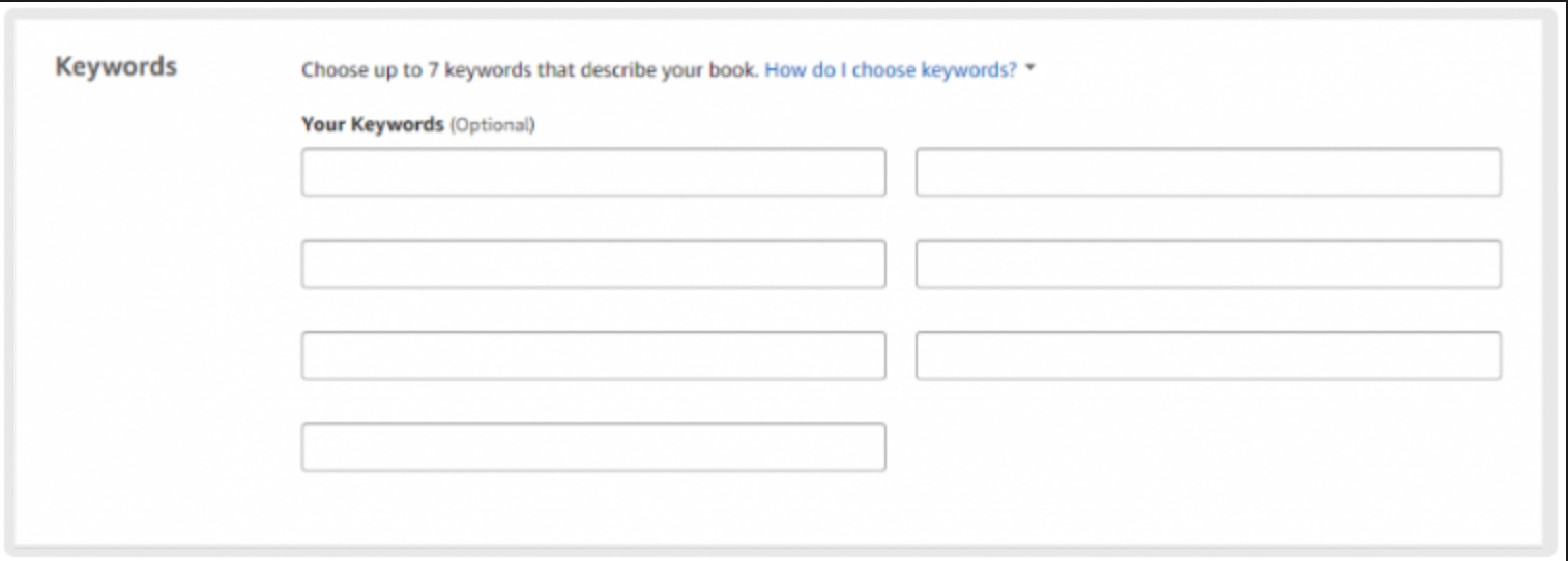 Start Your Publishing Company With KDP- Keywords