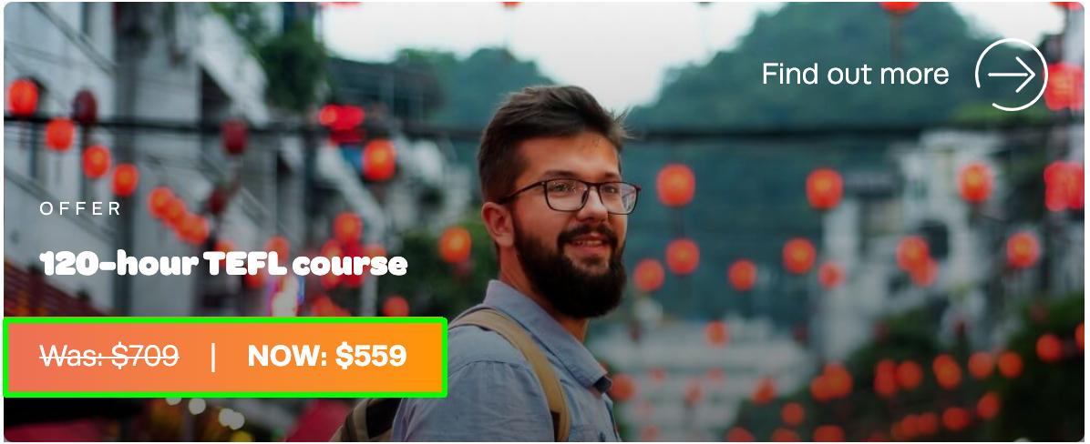 120 Hour TEFL Course