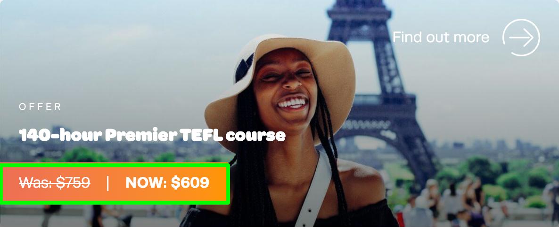 140 Hour Premier TEFL Course