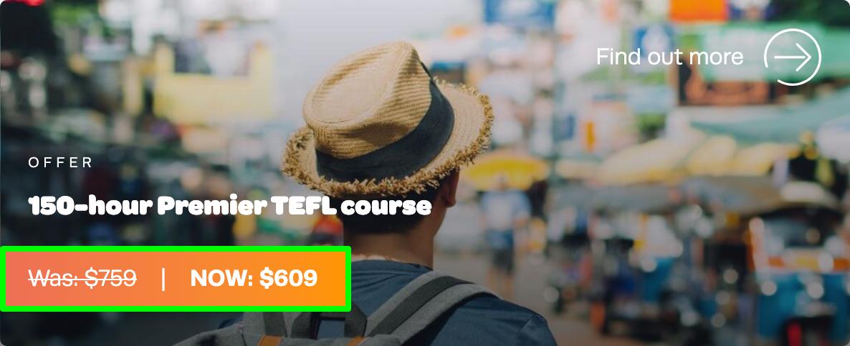 150-hour Premier TEFL Course