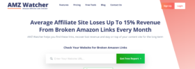 AMZ Watcher- Amazon Link Monitoring