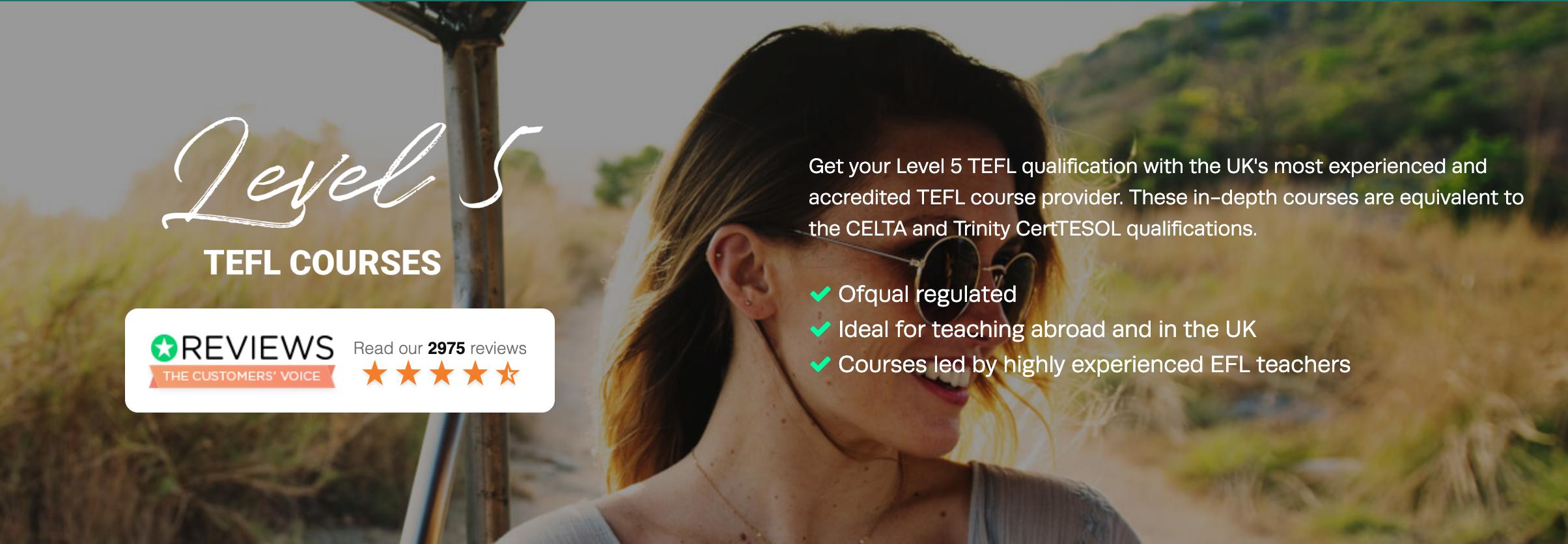 Level 5 TEFL Courses- tefl.org