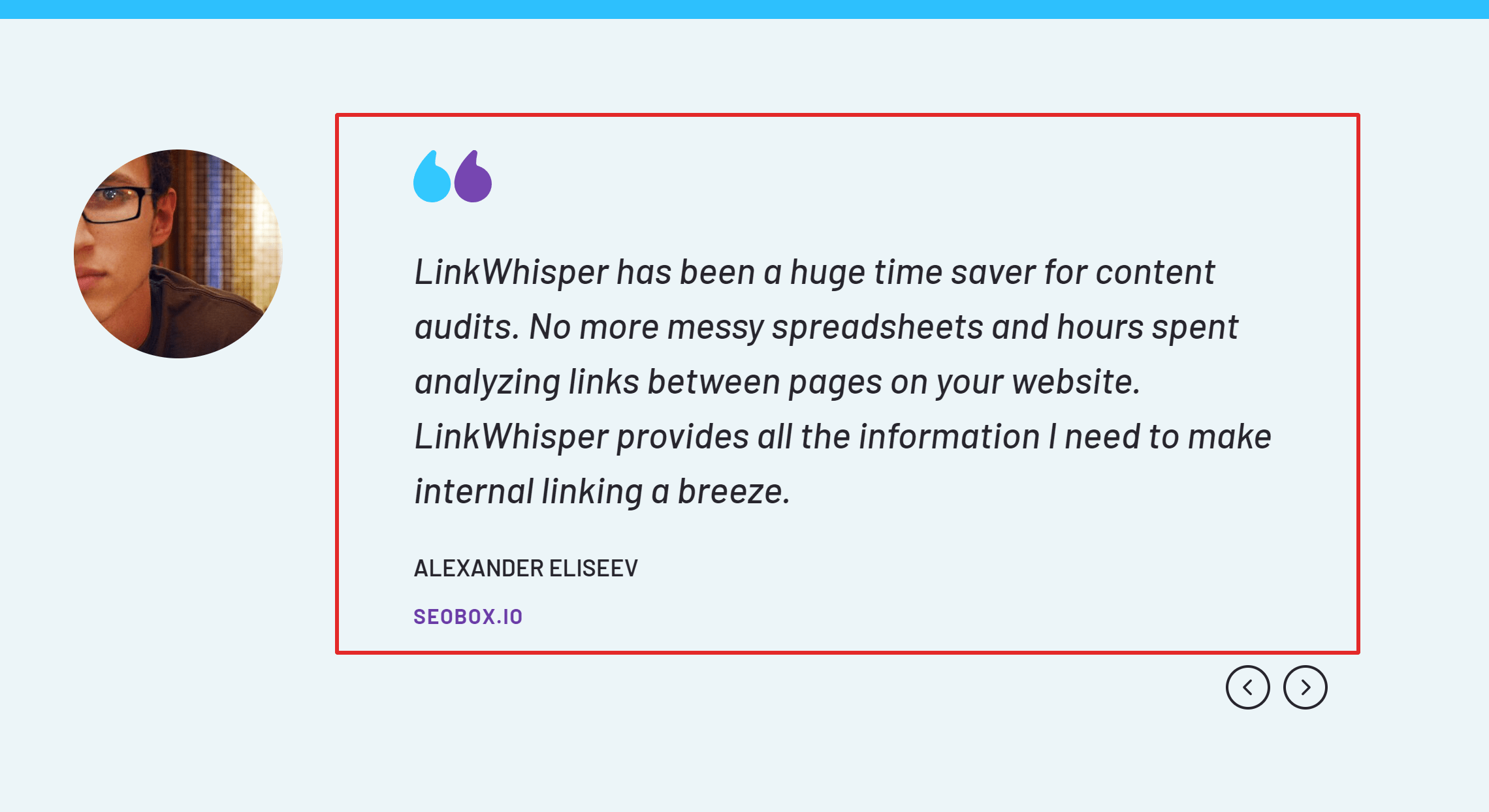 Link Whisper testimonials and reviews
