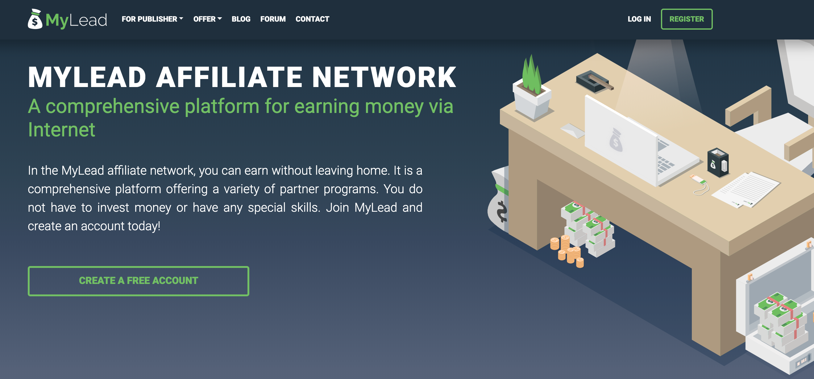 MyLead- The Best Affiliate Network