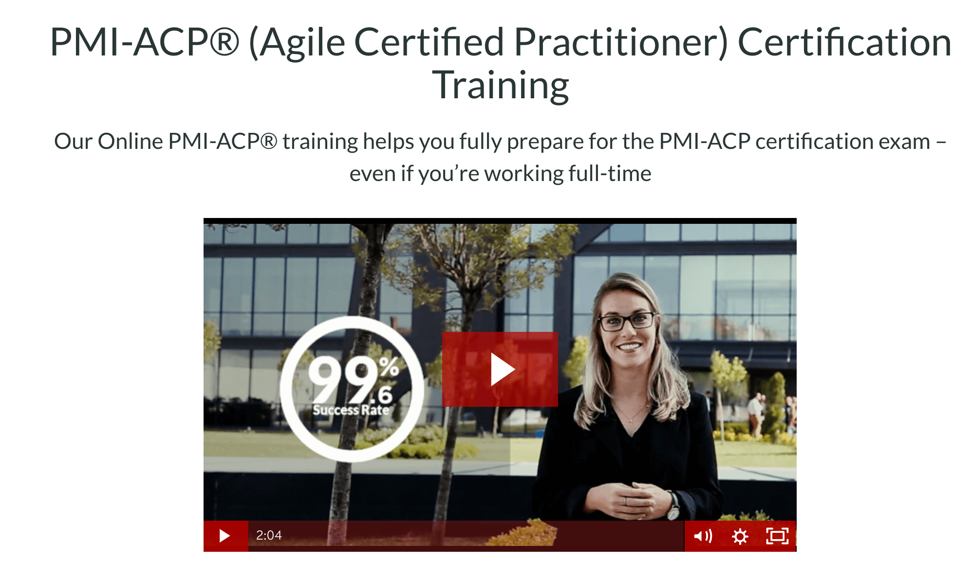 PMI ACP- Master of Project Academy