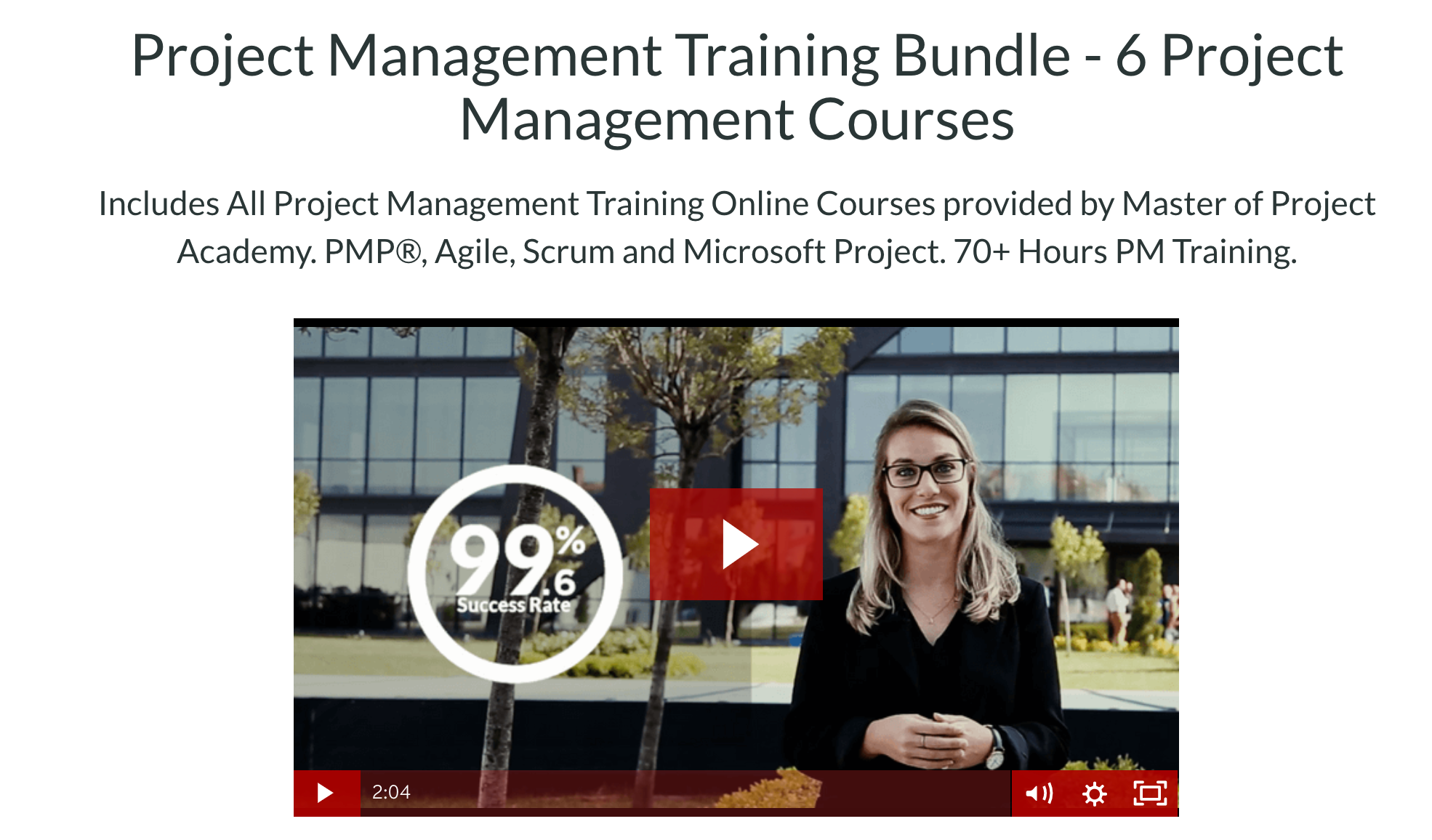Project Management Bundle- MOPA