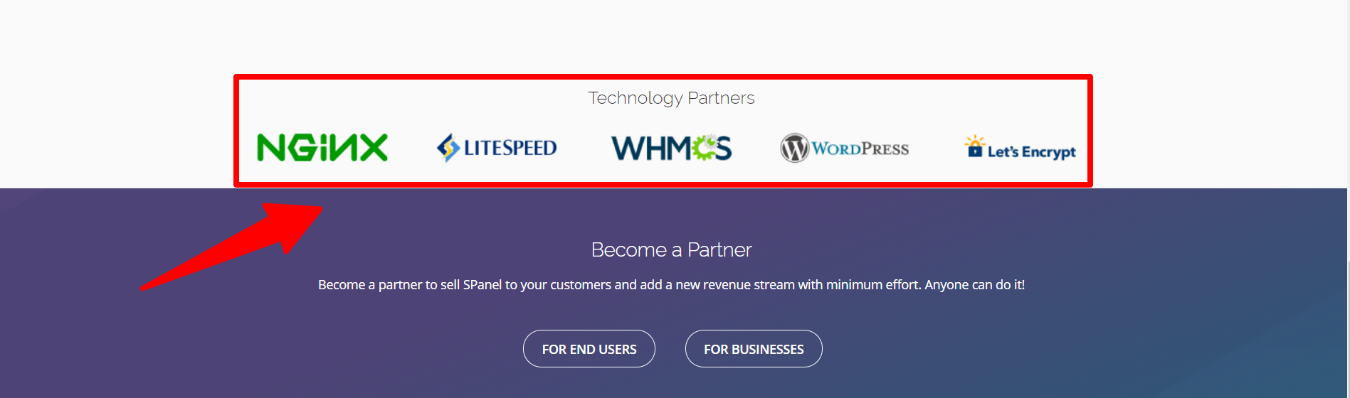 SPanel Review Technology Partners