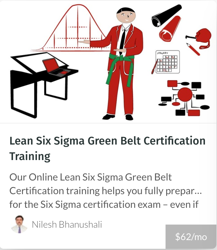 Sigma Green Belt- MOPA Courses
