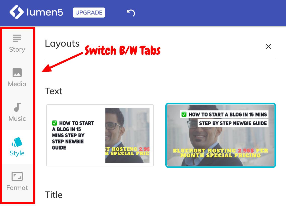 Switch Between Tabs