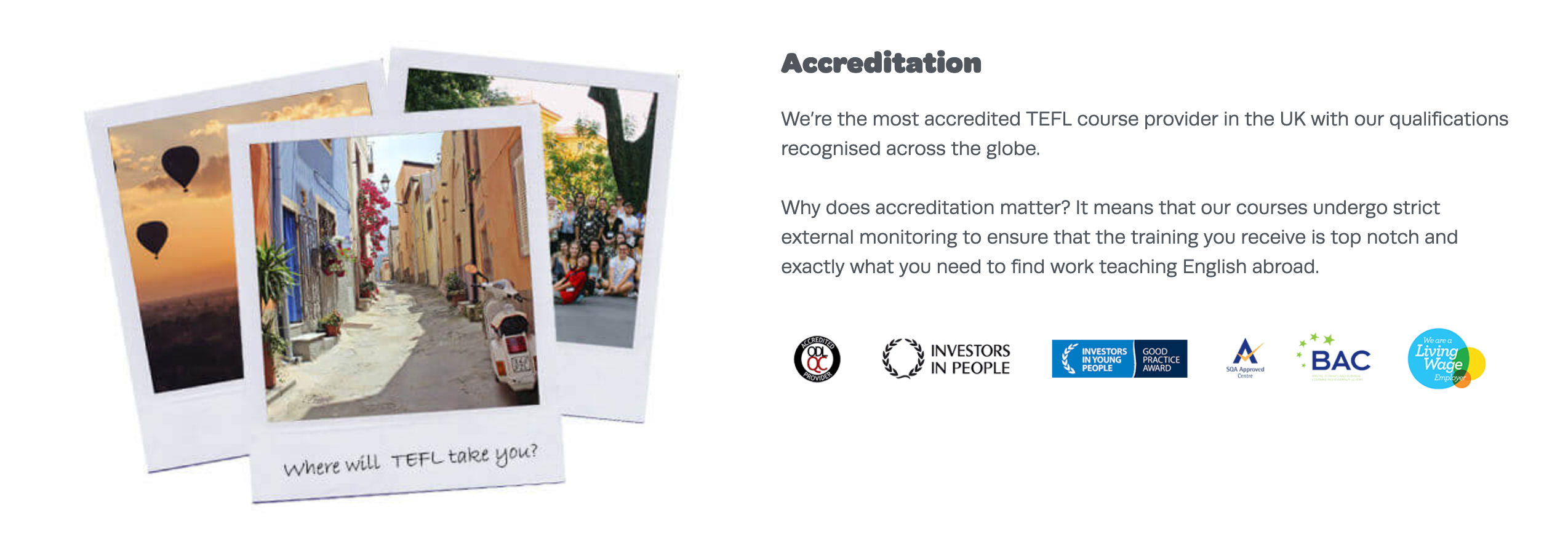 TEFL Org - Accredited TEFL Certification