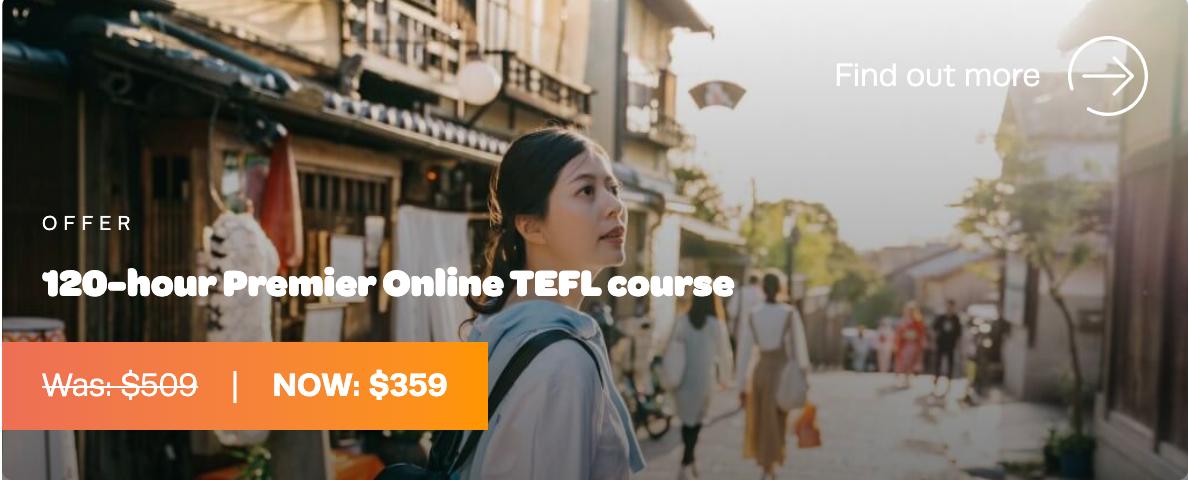TEFL Org Discount Coupon