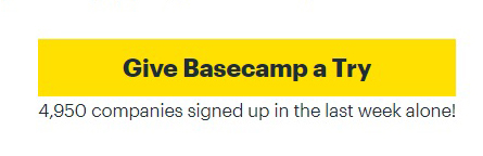 Basecamp Project Management & Team Communication Software
